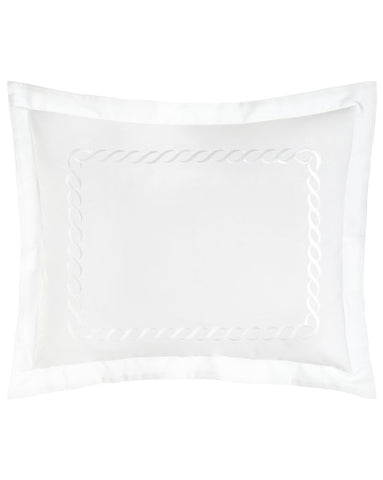 Estelle Sham in White (Set of 2)