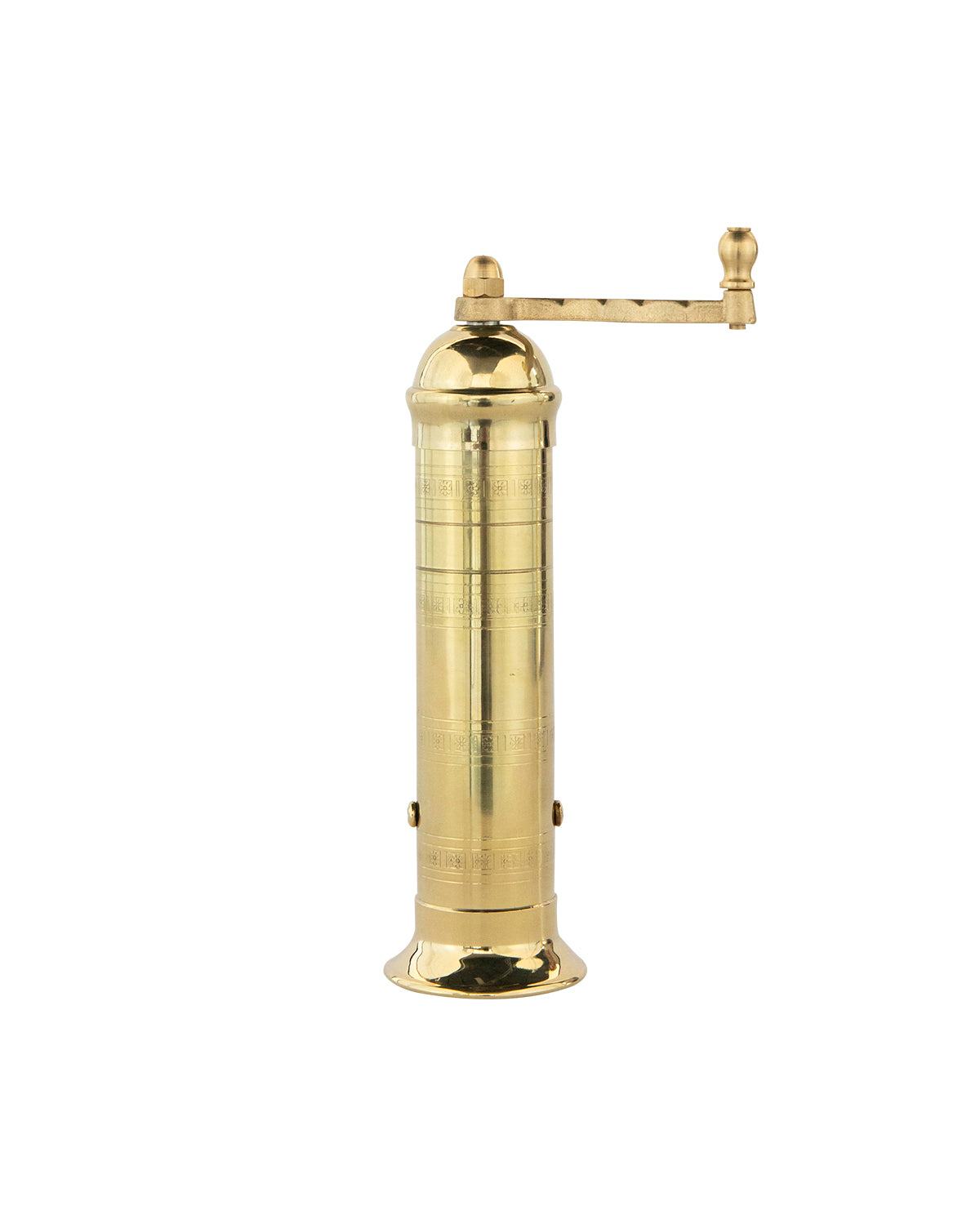 European Brass Pepper Mill