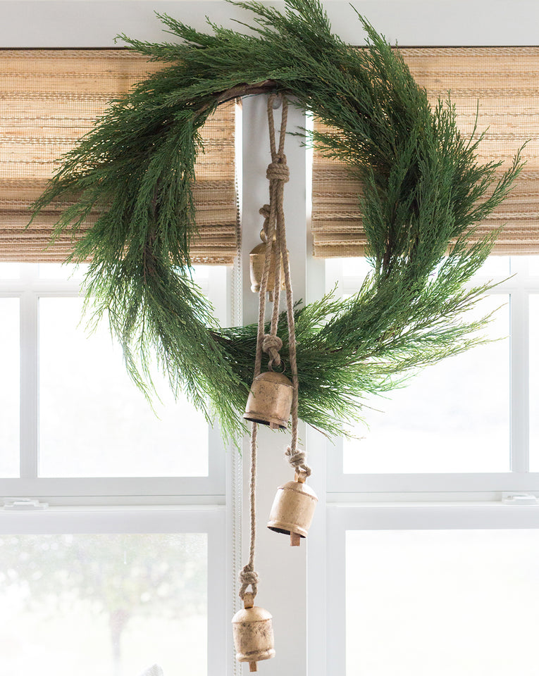 Faux Native Cedar Wreath