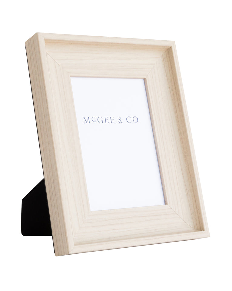 Faux Birch Frame