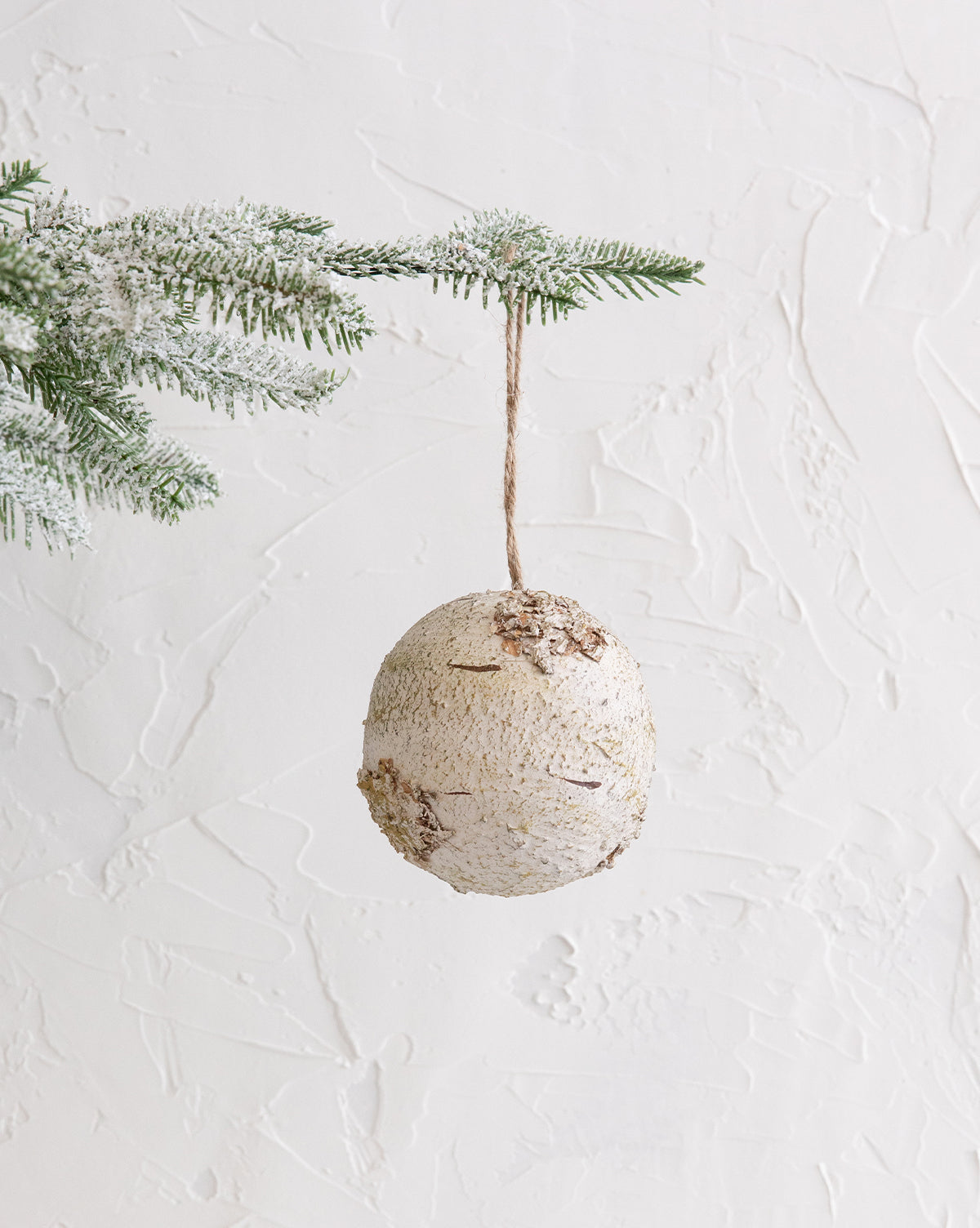 Faux Birch Ornament