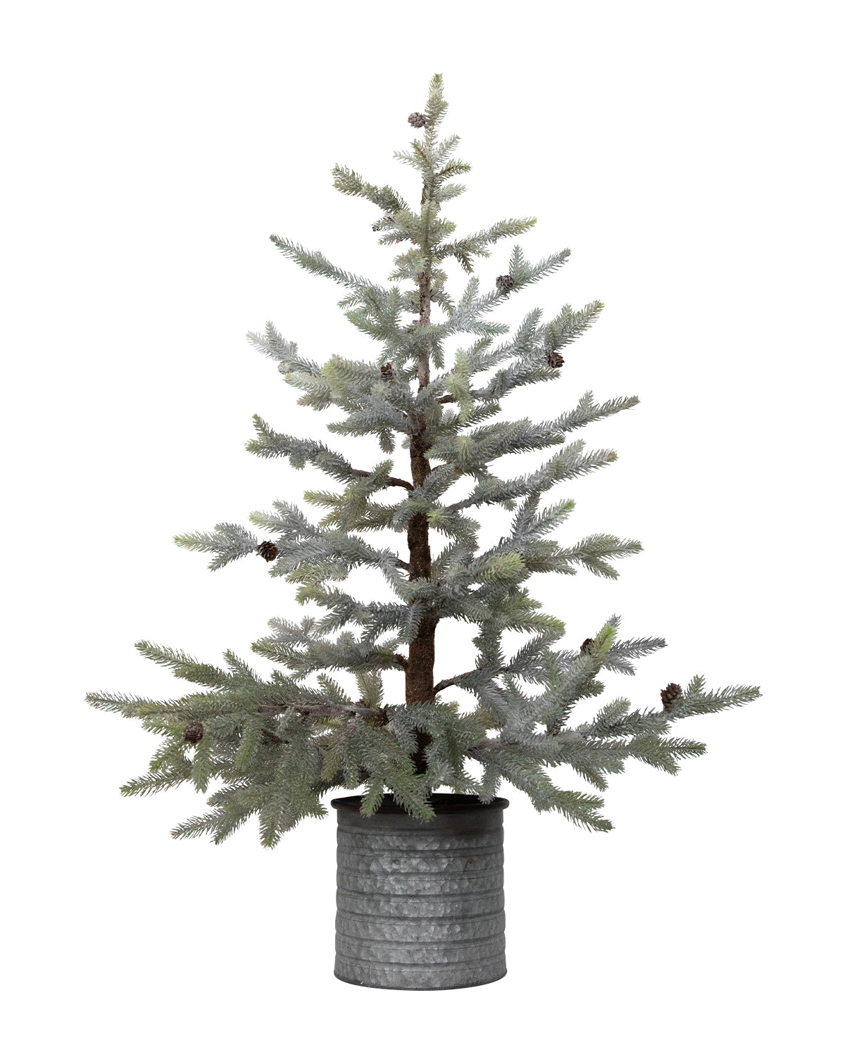 Faux Frosted Mini Tree