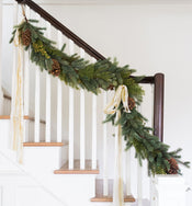 Faux Mixed Evergreen Garland
