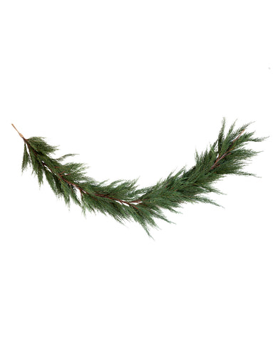 Faux Native Cedar Garland