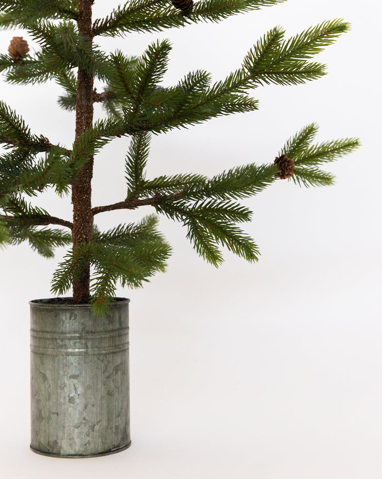 Faux Potted Mini Tree
