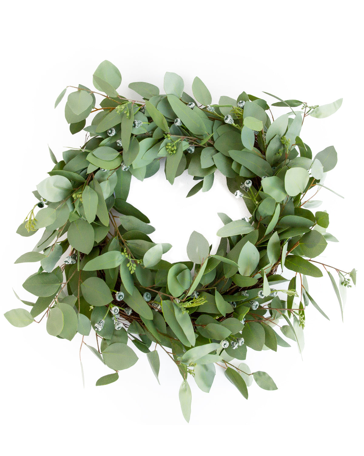 Faux Seeded Eucalyptus Wreath