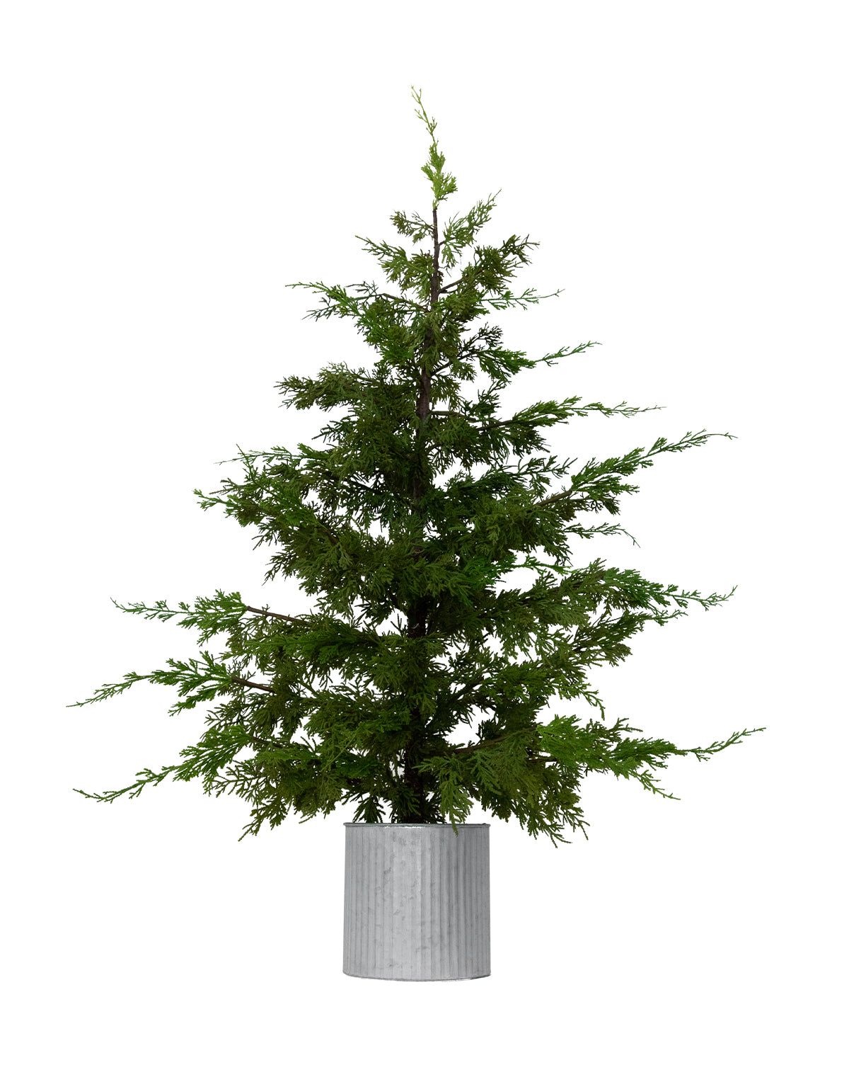 Faux Slim Cedar Tree