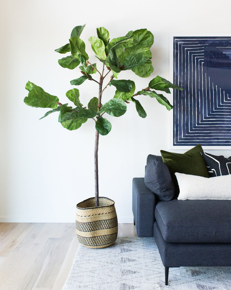 Faux Potted Fiddle Leaf Tree