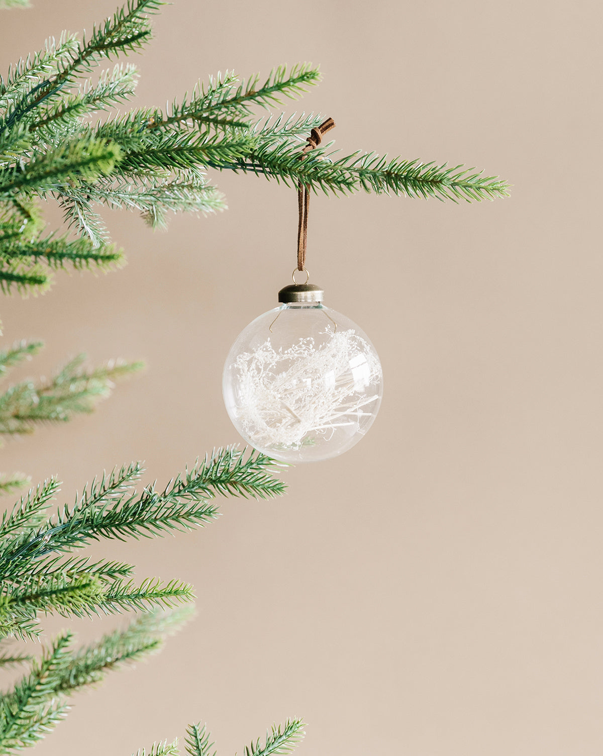 Foraged Grass & Glass Ornament