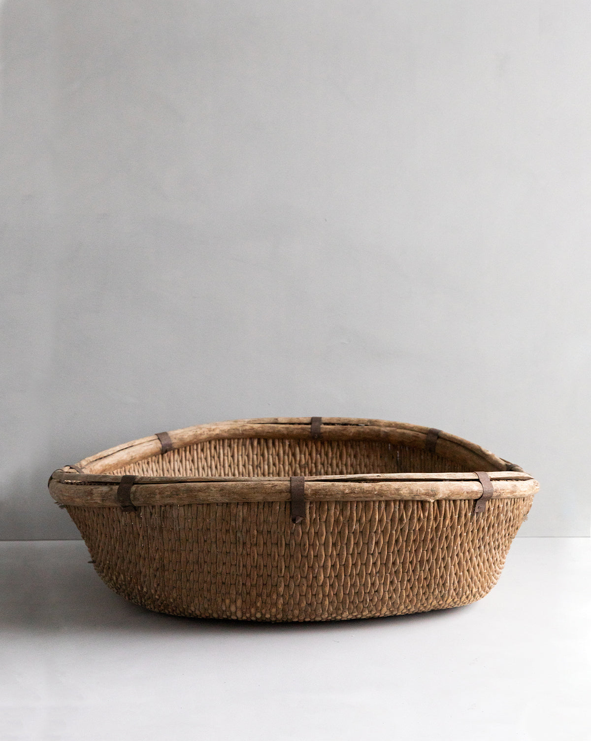 Found Woven Extra Large Basket