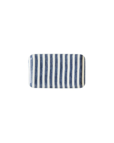 French Stripe Linen Tray