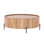Gatlin Drum Coffee Table