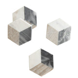 Geo Marble Coasters (Set of 4)
