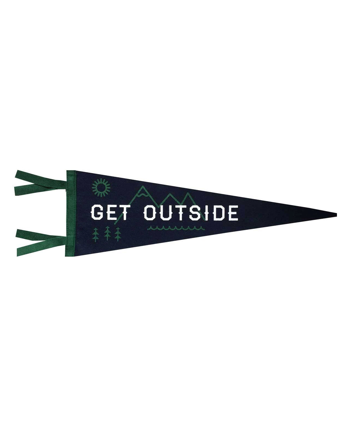 Get Outside Pennant