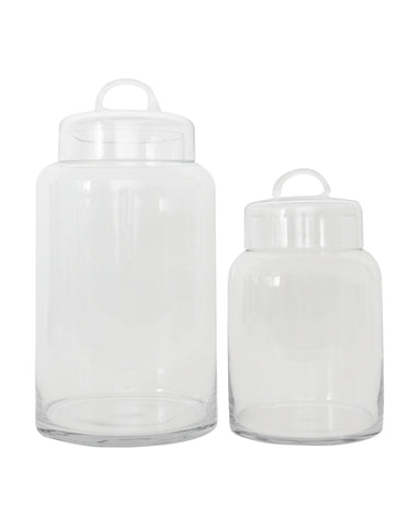 Glass Canister