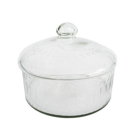 Glass Lidded Dish