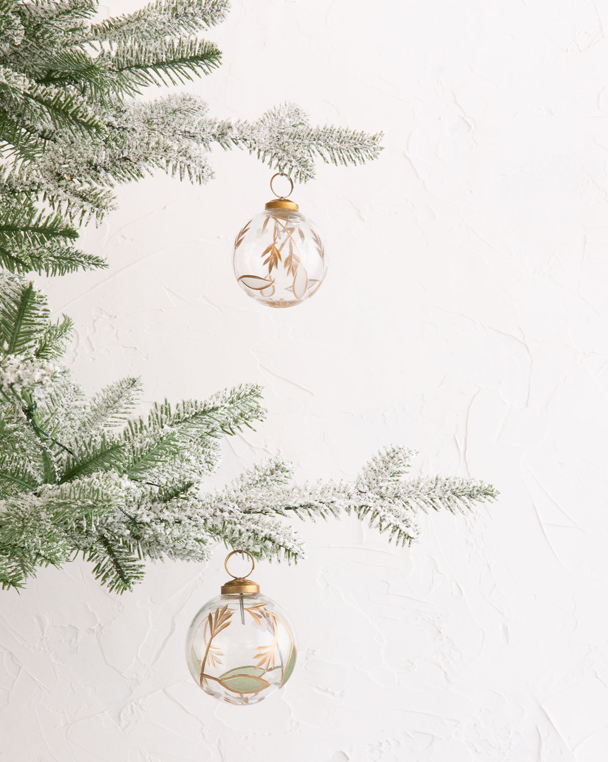 Golden Arrow Ornaments (Set of 2)