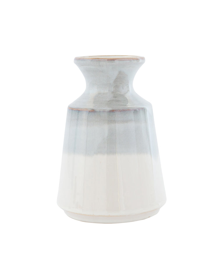 Gray Dipped Vase
