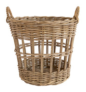 Gray Rattan Basket