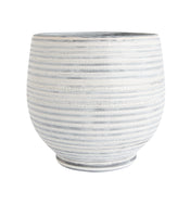 Gray Stripe Planter