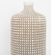 Grid Bottle Vase