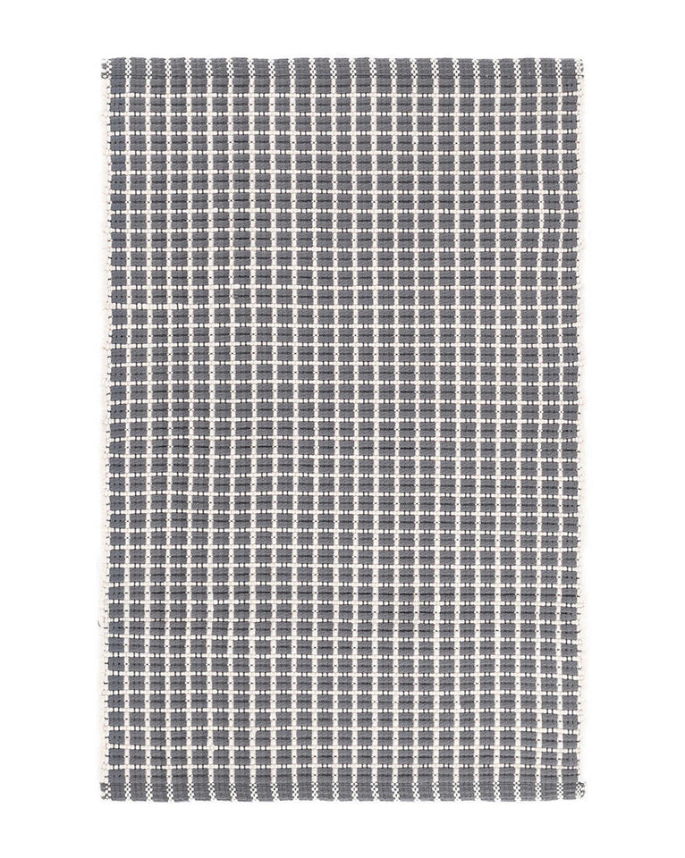 Gridiron Gray Indoor/Outdoor Rug Swatch