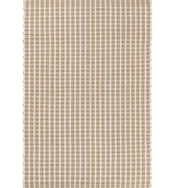Gridiron Wheat Indoor/Outdoor Rug