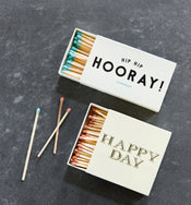 Happy Day Matchbox