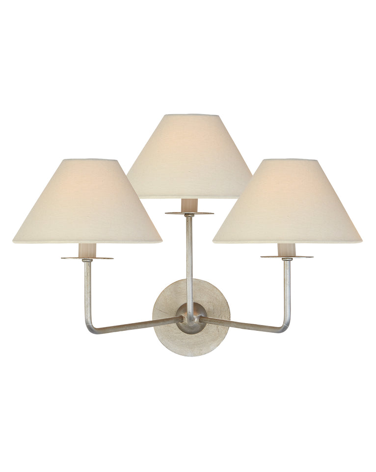 Kelley Triple Sconce