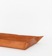 Leather Crafted Tray