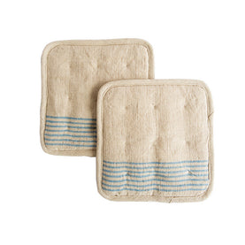 Linen Pot Holders (Set of 2)