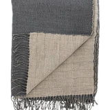 Linen & Wool Reversible Throw
