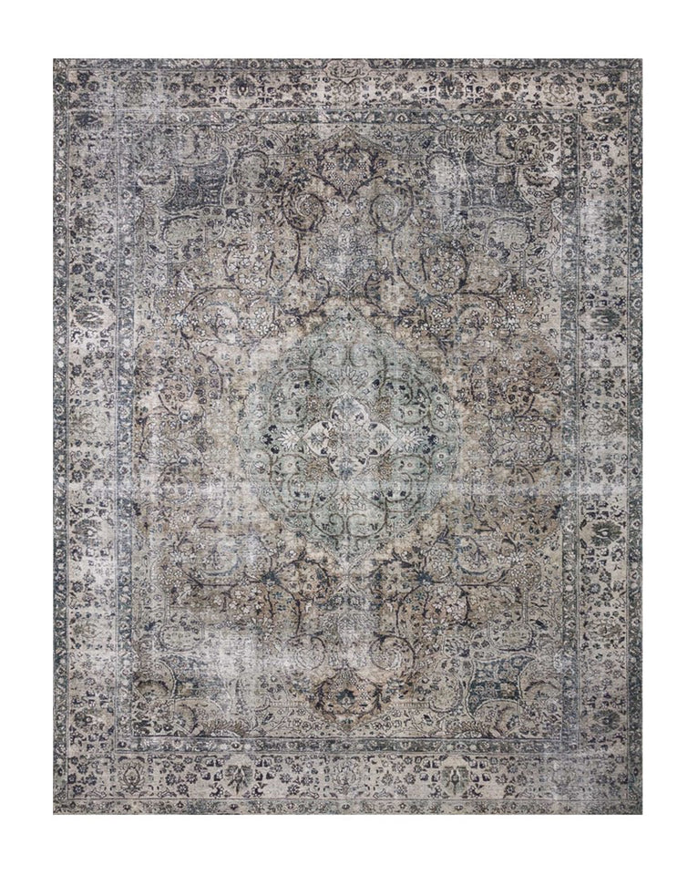 Lourdes Patterned Rug Swatch