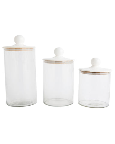 Luna Canisters (Set of 3)
