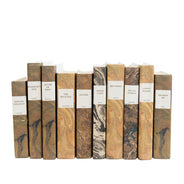 Marbled Paper Books, Set of 5