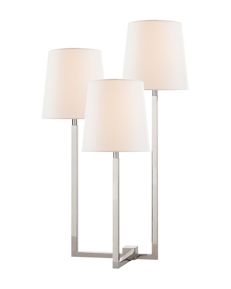 Margot Triple Arm Table Lamp