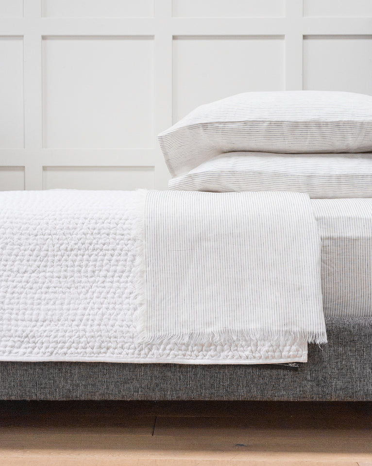 Marquette Linen Sheet Set