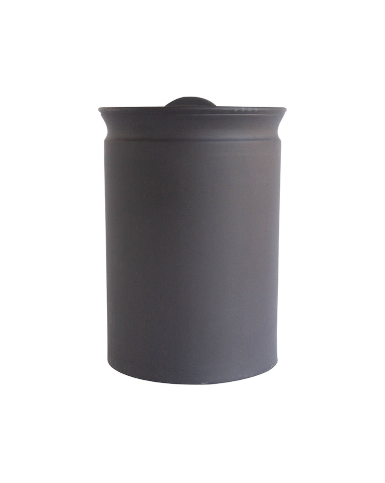 Matte Black Canisters