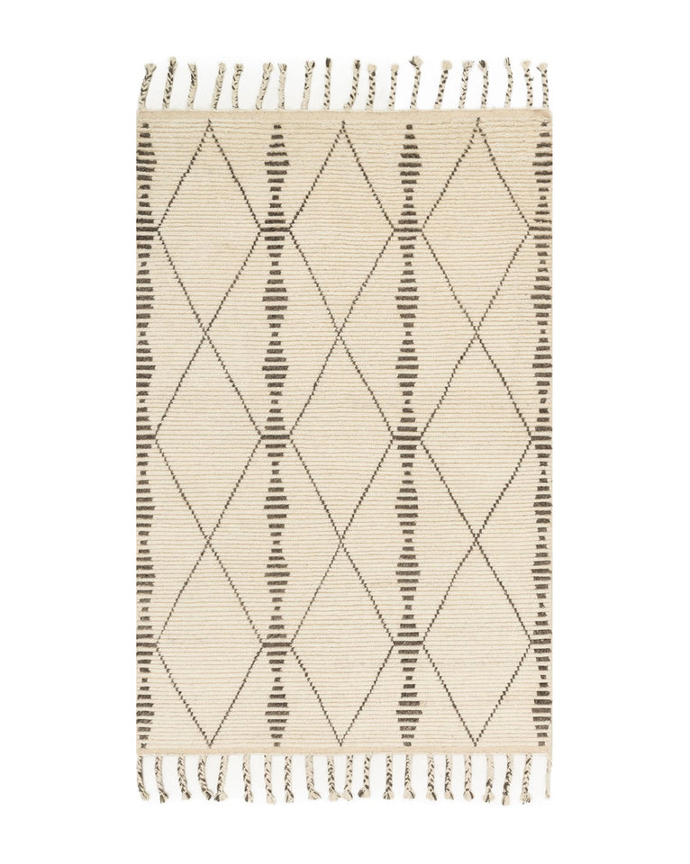 Merida Hand-Knotted Rug Swatch