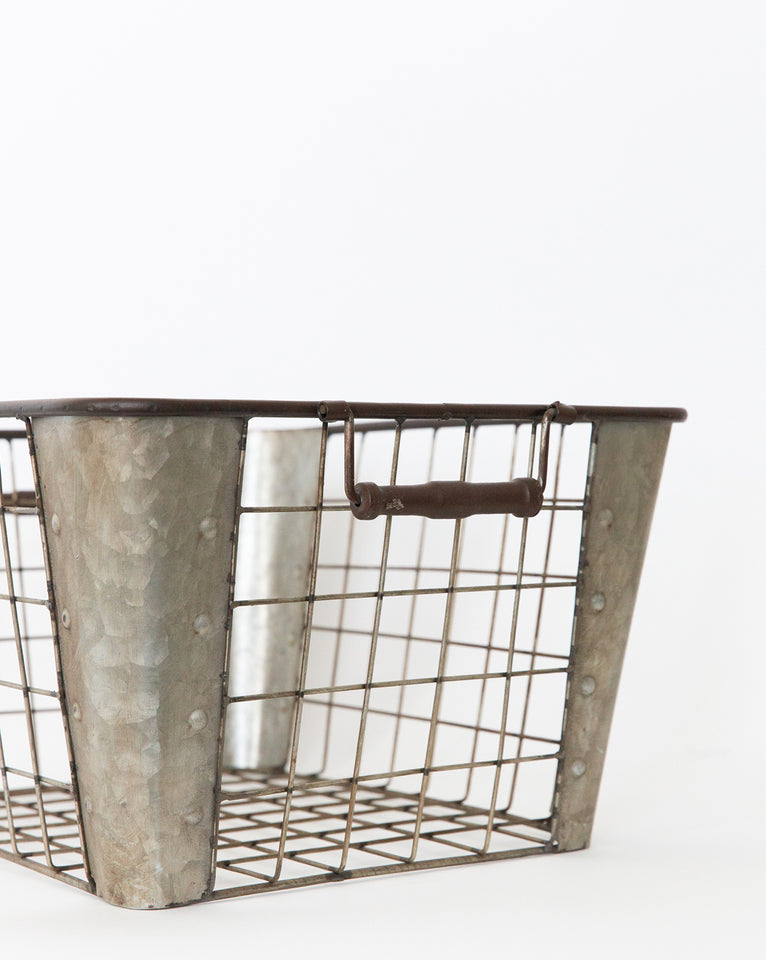 Metal Grid Basket