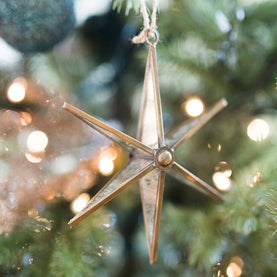 Mirrored Star Ornaments