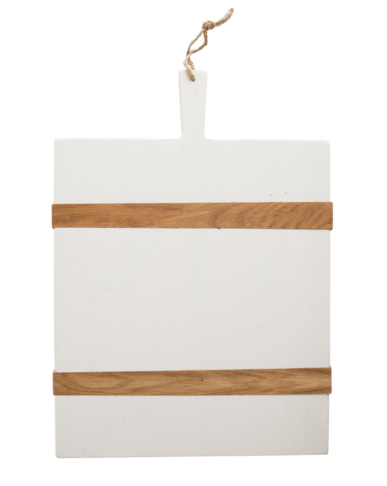 Modern White Bread Board