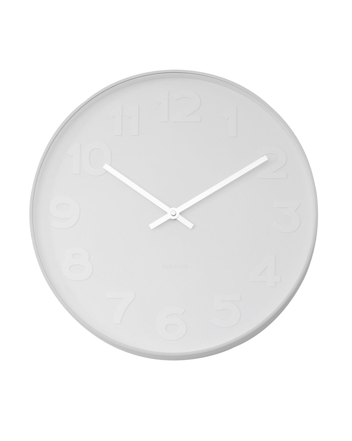 Modern White Wall Clock