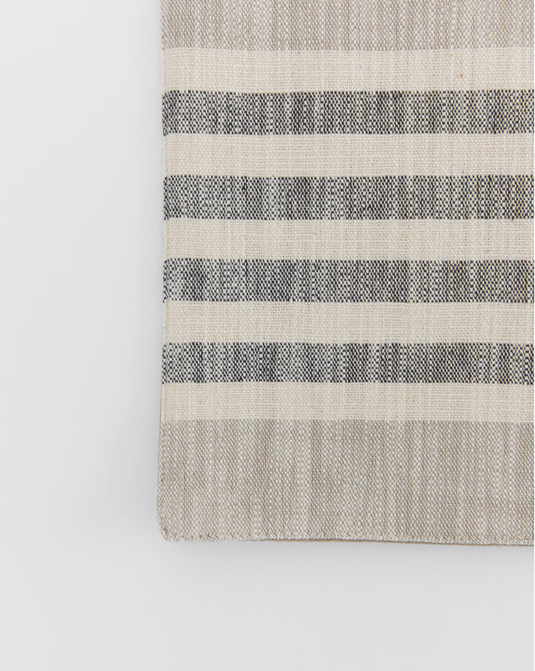 Multi Stripe Cotton Table Runner