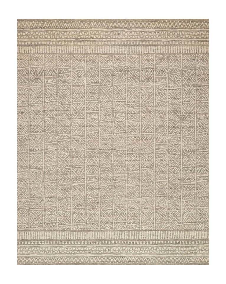 Muscat Stone Hand-Woven Rug Swatch
