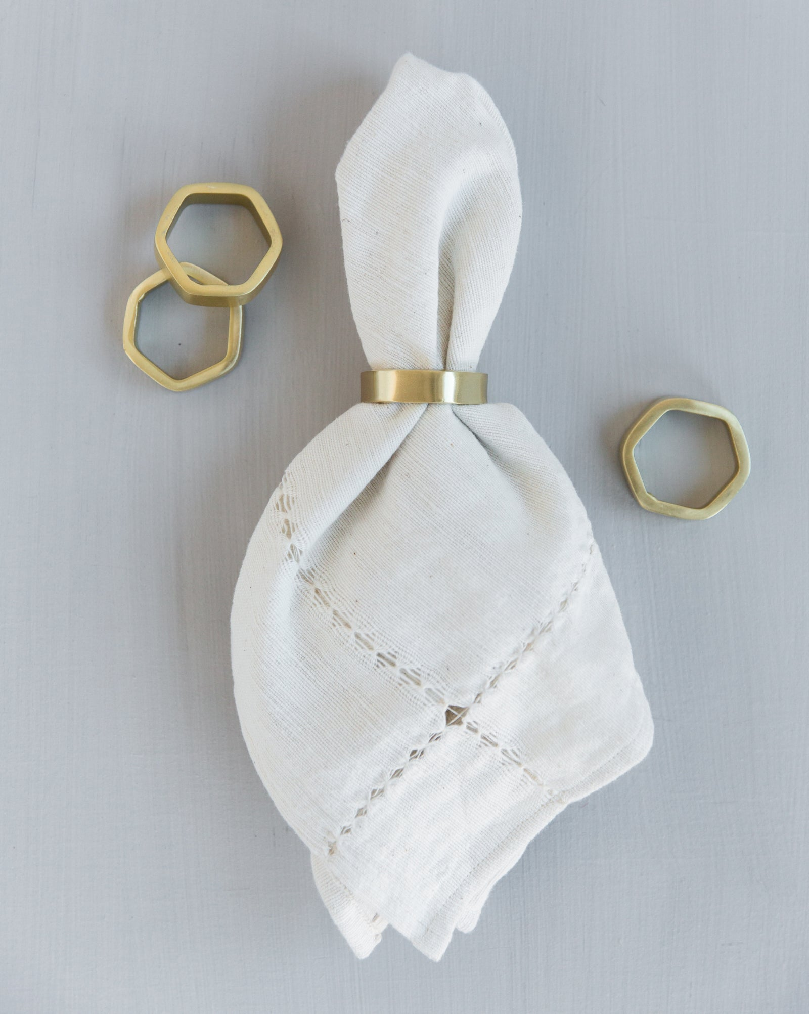 Hexagon Napkin Ring