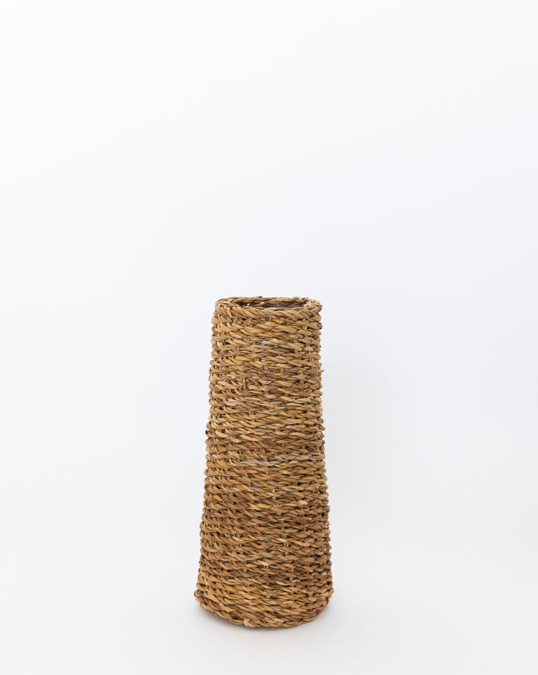 Narrow Seagrass Vase