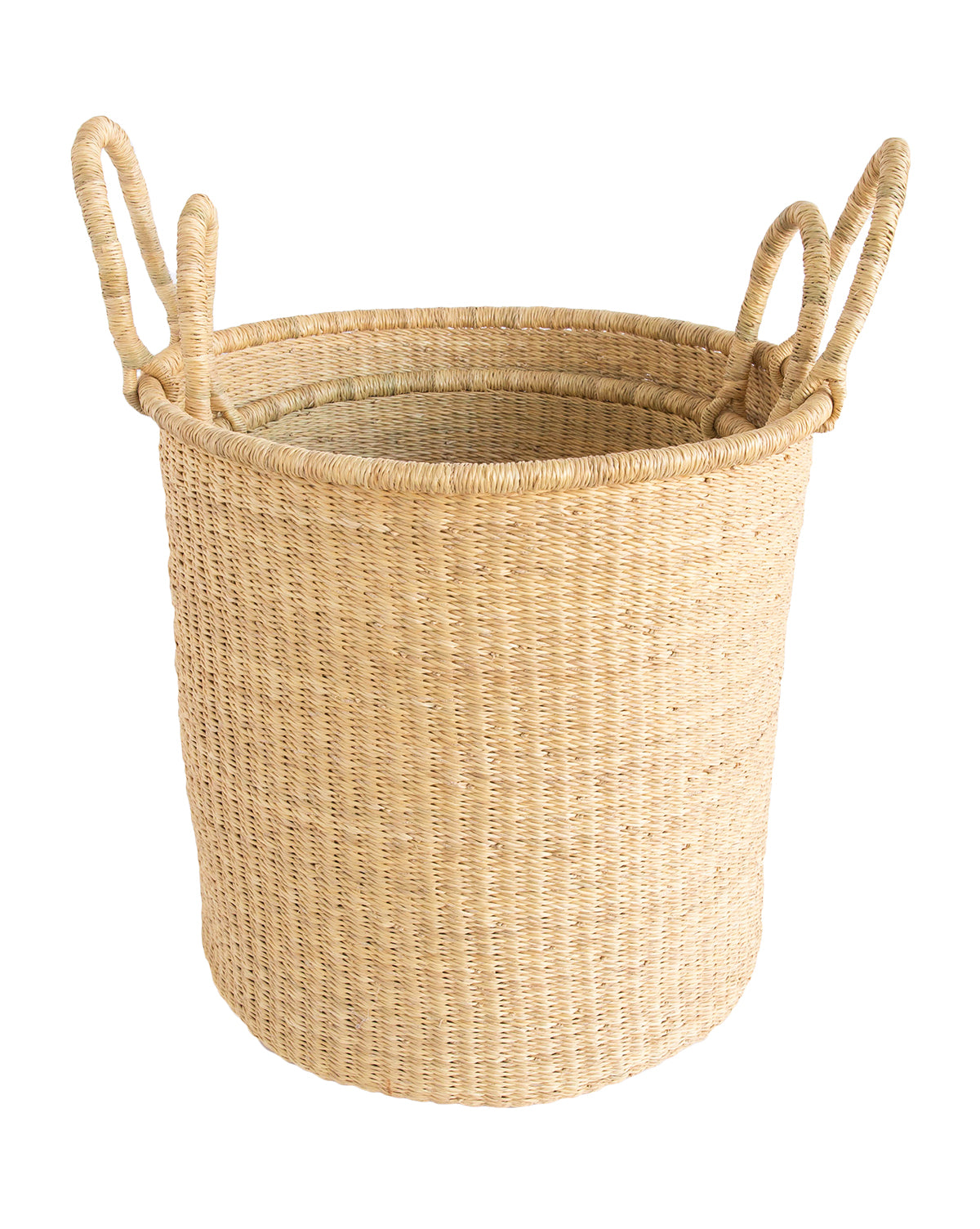 Natural Woven Basket – McGee & Co.