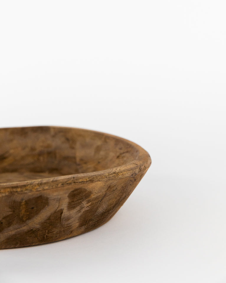 Niccolo Hand-Carved Bowl