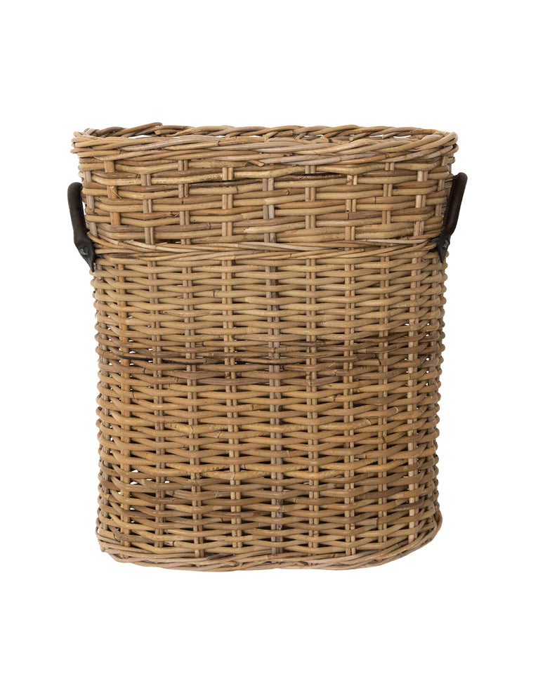 Oval Rattan Umbrella Basket